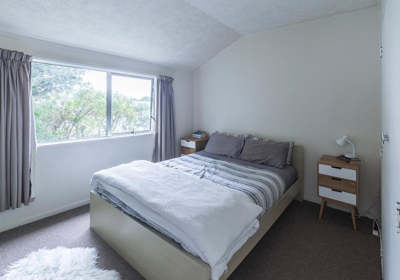 Main Bedroom (Upstairs Left) - 4/15 Bolton Street, Petone - Townhouse for Sale in Petone