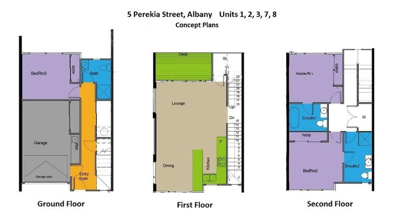 Unit 2-5 Perekia St, Albany - Terrace for Sale in Albany