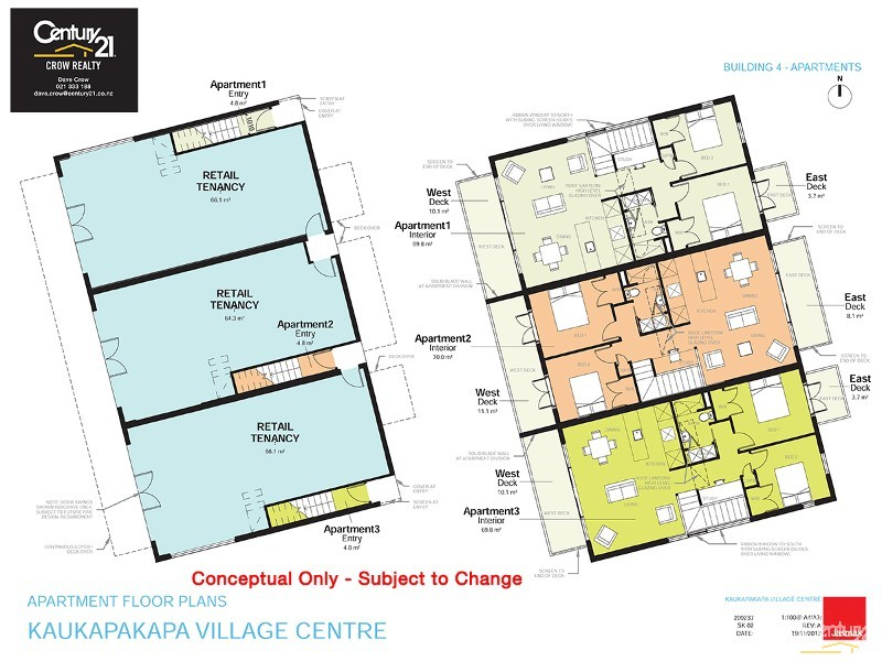 Sample Apartment Floor Plan - 1079 Kaipara Coast Highway (SH16), Kaukapakapa - Retail Property for Lease in Kaukapakapa
